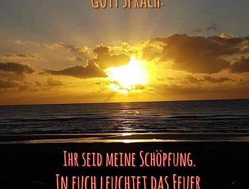 Gott sprach